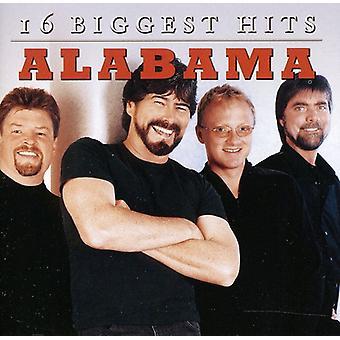 Alabama - 16 plus grands succès [CD] USA import