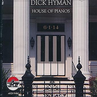 Dick Hyman - House of Pianos [CD] USA import