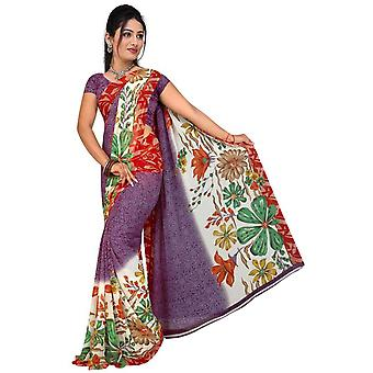 Bhavi Georgette Printed Casual Saree Sari Bellydance fabric