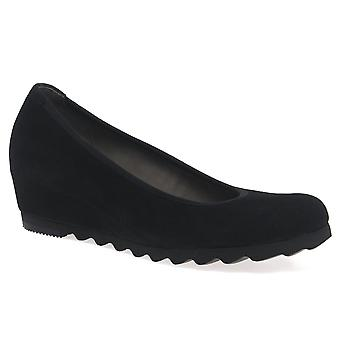 Gabor Request Womens Modern Wedge Court Shoes