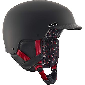 Anon Aera Helmet - Black/Cherry