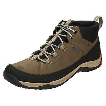 Mens Clarks Walking Boots Baystone Hi GTX