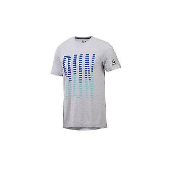 ריבוק ריצה יסודות CD5673 אוניברסלי כל השנה גברים חולצת טריקו