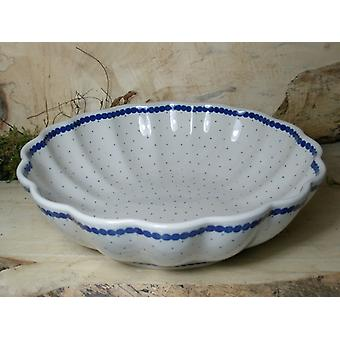 Dish, with a wavy margin, Ø 27.5 cm, height 7.5 cm, tradition 26, BSN 7916