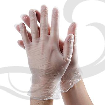 HAIR DYE GLOVES VINYL MEDIUM 1 PAIR