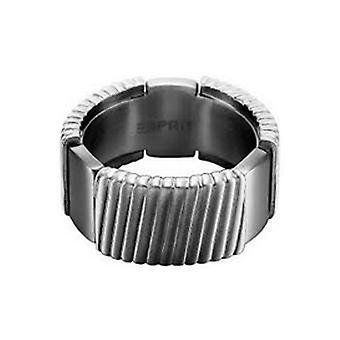 ESPRIT męskie pierścień ze stali nierdzewnej flush GR 21 ESRG11375B210