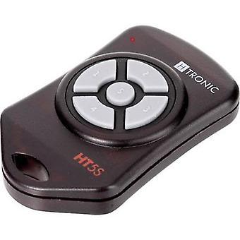 H-Tronic HT5S draadloze zender 5-kanaals frequentie 868,35 MHz, 869,05 MHz, 869,55 MHz 3 V Max. bereik (open veld) 150 m