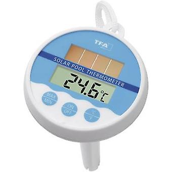 TFA Dostmann Solar Pool termometer hvit
