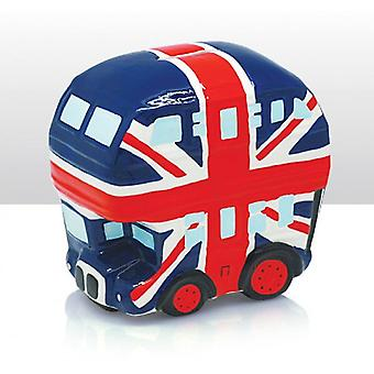 Union Jack Wear Union Jack Ceramic Bus Money Box
