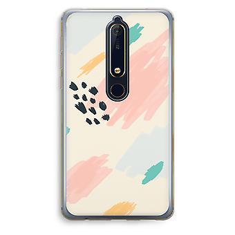 Nokia 6 (2018) boîtier Transparent (doux) - dimanche Chillings