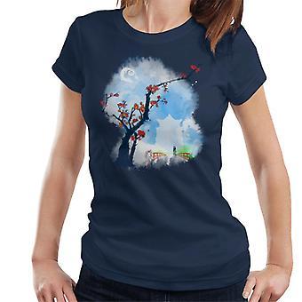 Spirited Away Sumie Style Women's T-Shirt