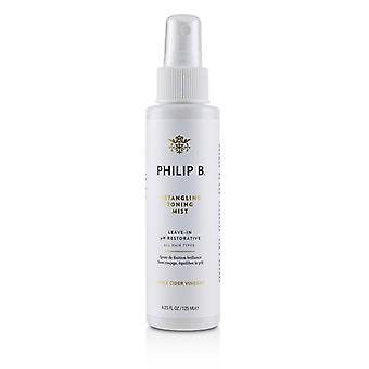 Philip B detangling toning mist (laat-in pH Restorative-alle haar types)-125ml/4.23 Oz