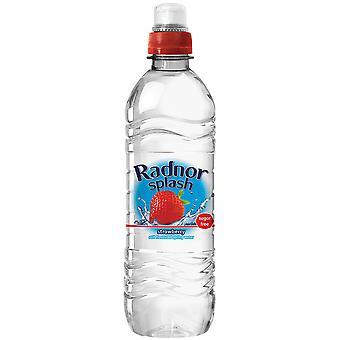Radnor Splash Strawberry Flavoured Water