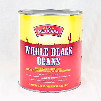 La Mexicana Black Turtle Beans in Brine