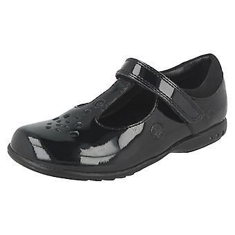 Clarks filles allument en forme de t école chaussures Trixi Pip