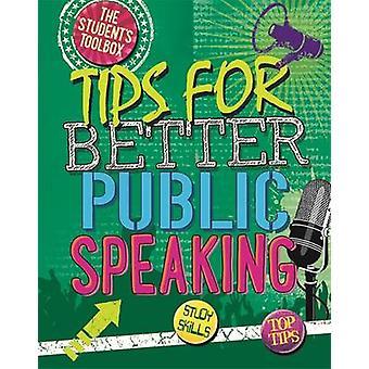 Studenten Toolbox tips voor een beter publiek spreken door Louise Spilsbury