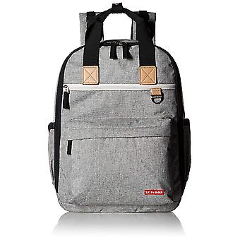 Skip Hop Duo Backpack, Grey Melange