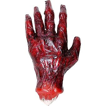 اليد المحترقة