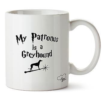 Hippowarehouse My Patronus Is A Greyhound 10oz Mug Cup