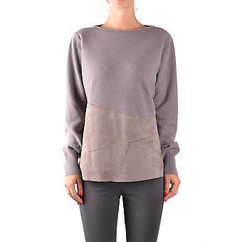Fabiana Filippi Ezbc055002 Femmes-apos;s Grey Wool Sweater