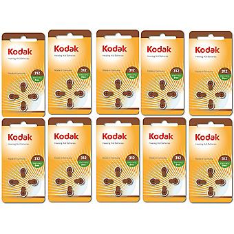 Batterie da 40-pack Kodak -Air Hearing Aid 312, A312, PR41