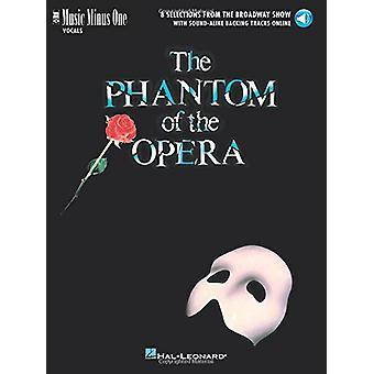 The Phantom Of The Opera - Music Minus One Vocal - 9781540002327 Book