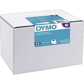 DYMO Label roll 13188 S0722360 89 x 28 mm Paper White 3120 pc(s) Permanent Address labels
