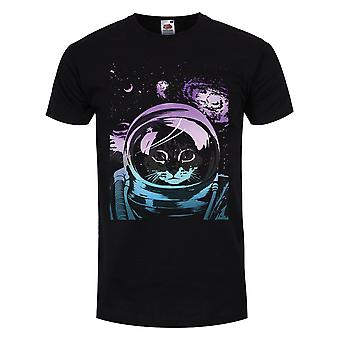 Unorthodox Collective Mens Space Kitten T-Shirt