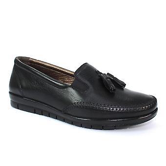 Lunar Estella Leather Tassel Loafer