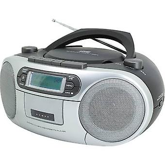Soundmaster SCD7900 Radio CD-Player DAB+, FM AUX, CD, Tape, USB Schwarz