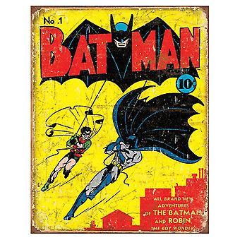 Batman Comic Retro Tin Sign