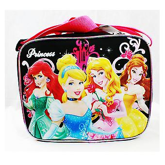 Torba na lunch-Disney-4 Princess Rose Bag Black School Bag New A05372