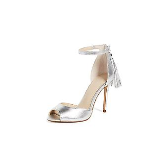 botkier Womens Anna Leather Peep Toe Special Occasion Ankle Strap Sandals