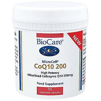 BioCare MicroCell CoQ-10 200 Vegicaps 30 (73330)