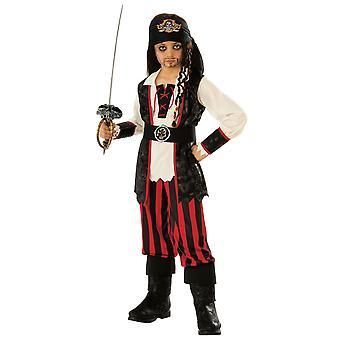 Pirate Kapteeni Koukku Jack Sparrow Karibian Buccaneer kirja viikko pojat puku