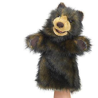 Hand Puppet - Folkmanis - Bear Stage Puppet New Toys Soft Doll Plush 2986