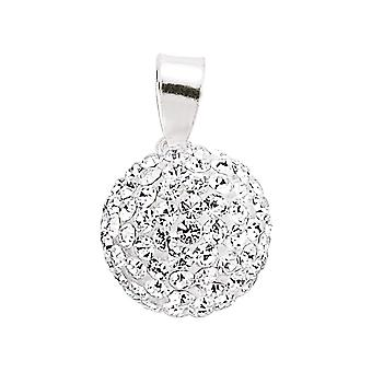 Collier de charme Jewelco London Disco Ball Crystal Pave