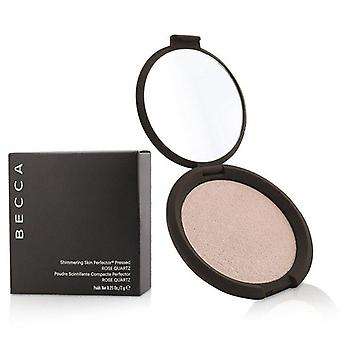 Becca Shimmering Skin Perfector Pressed Powder - # Rose Quartz - 7g/0.25oz