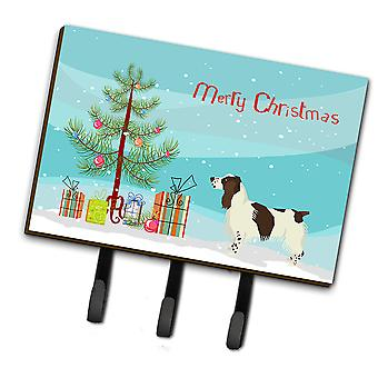 English Springer Spaniel Christmas Tree Leash or Key Holder