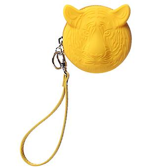 Coin Purse in Tiger Yellow