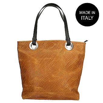 Leather shoulder bag Made in Italy 80060