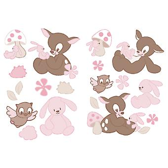 Nattou Rosy & Adhesives Decorative Emil 70X100 Cm (Babies and Children , Toys , Others)