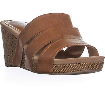Stijl & Co. Womens Juliaa open teen casual platform sandalen