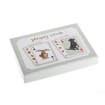 Wrendale Designs Playing Cards Gift Set