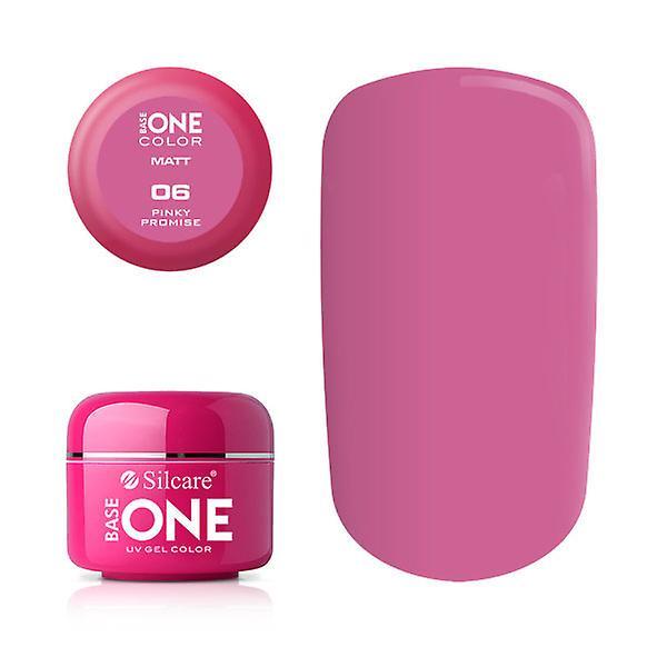 Base en-Matt-pinky løfte 5G UV gel