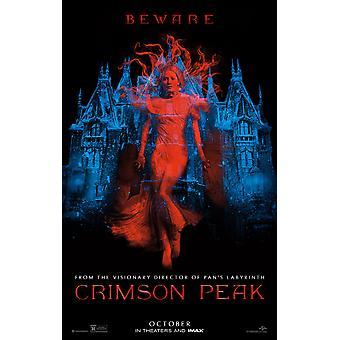 Crimson Peak Original Movie Poster Double Sided Advance Style