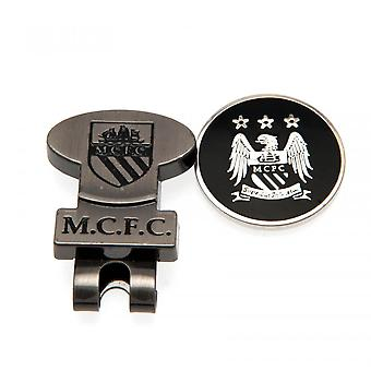 Manchester City FC Hat Clip And Marker