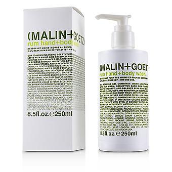 Malin+goetz Rum Hand+body Wash - 250ml/8.5oz