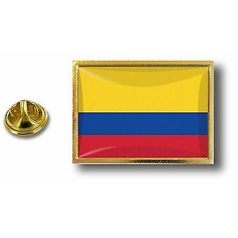 Kiefer Pines Abzeichen Pin-Apos;s Metall mit Flagge Schmetterling Pinch kolumbianischen Kolumbien