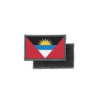 Patch ecusson prints flag badge antigua barbuda